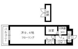 クリエート大楠[4階]の間取り