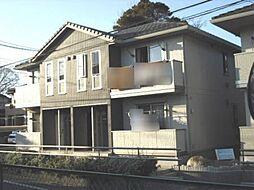 千葉県松戸市金ケ作の賃貸アパートの外観
