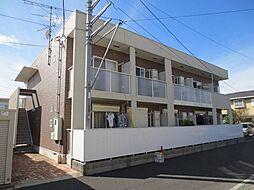 埼玉県春日部市南4の賃貸アパートの外観