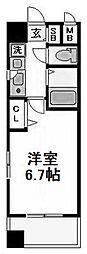 エステムコート天満の杜[3階]の間取り