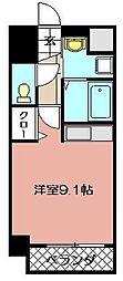 アピアランス南小倉[206号室]の間取り
