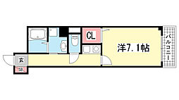 ウィンテージ神戸元町[501号室]の間取り