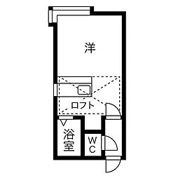 MMハイムIII[3階]の間取り