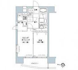 パークキューブ板橋本町[9階]の間取り
