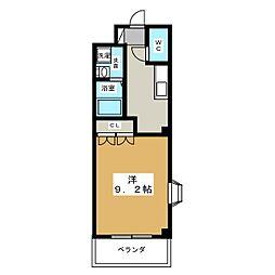 ルミナスH&T[1階]の間取り