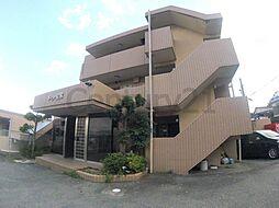 兵庫県宝塚市花屋敷荘園3丁目の賃貸マンションの外観