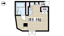 コモンプラザ弐番館[302号室]の間取り