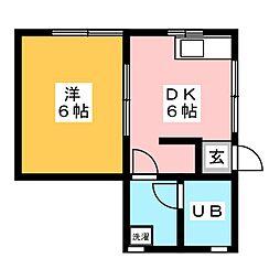 [一戸建] 愛知県豊明市阿野町寺内 の賃貸【/】の間取り