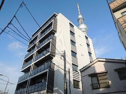 クレストコートTS吾妻橋[7階]の外観