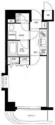グリフィン横浜・サザンフォート[2階]の間取り