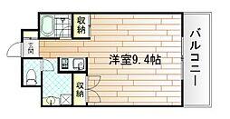 メゾン東武三萩野[7階]の間取り