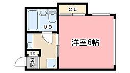 みつまるマンション[304号室]の間取り