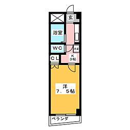 グリーンガーデン小林2[4階]の間取り