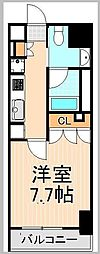 プラウドフラット浅草駒形[8階]の間取り