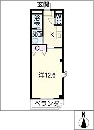 ニューライフ[2階]の間取り