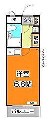 ライオンズマンション清瀬第2[2階]の間取り
