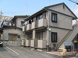 栃木県宇都宮市西川田南1丁目の賃貸アパートの外観