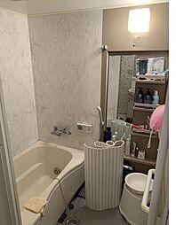 追い焚き機能が付いた浴室