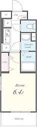 View Terrace II(ビューテラスツー)[103号室]の間取り