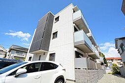 兵庫県西宮市小松南町2丁目の賃貸アパートの外観
