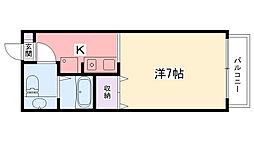 ソフィア武庫川[502号室]の間取り