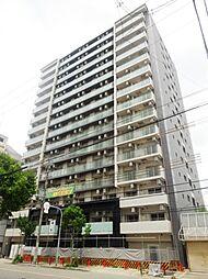 大阪府大阪市東淀川区東中島3の賃貸マンションの外観