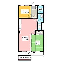 柴昭ハイツ[1階]の間取り