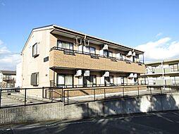 愛知県知多市にしの台2丁目の賃貸アパートの外観
