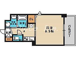 大阪府大阪市北区浮田2の賃貸マンションの間取り