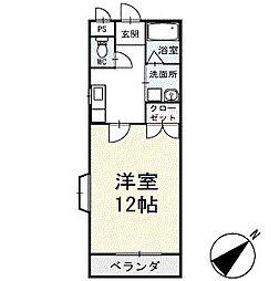 サンハイム永新A棟 1階[103号室]の間取り