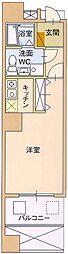 サングレートESAKA2[9階]の間取り