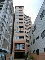 京都府京都市中京区東洞院通三条下る三文字町の賃貸マンションの外観