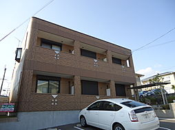 兵庫県三田市三輪4丁目の賃貸アパートの外観