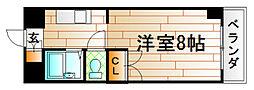 K−2西小倉ビル[12階]の間取り