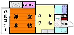 リクトール2[2階]の間取り