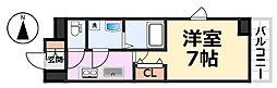 エス・キュート尼崎[601号室号室]の間取り