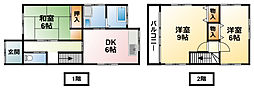 [一戸建] 千葉県東金市東金 の賃貸【千葉県 / 東金市】の間取り