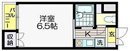 仙川ブリランテハイツ[305号室]の間取り