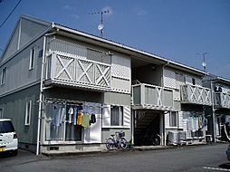 鈴木ハイツB[202号室]の外観