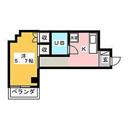 恵マンション[3階]の間取り