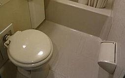 岡田ビルの落ち着いたトイレです