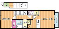サニーコートYH[2階]の間取り