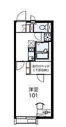 レオネクストサンシティーIII[1階]の間取り