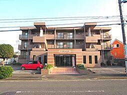茨城県牛久市上柏田2丁目の賃貸マンションの外観