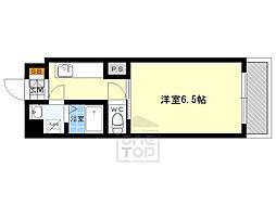 朝田マンション2階Fの間取り画像