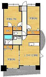 クレール・カーサ[2階]の間取り