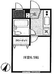 ソリッドリファイン志村坂上[3階]の間取り