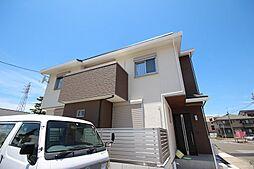 愛知県名古屋市中川区野田3丁目の賃貸アパートの外観