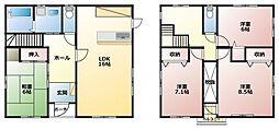 JR東海道本線 藤枝駅 バス37分 細江下車 徒歩10分の賃貸一戸建て 1階4LDKの間取り