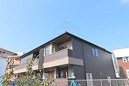 阪急千里線 南千里駅 バス7分 亥子谷下車 徒歩8分の賃貸アパート